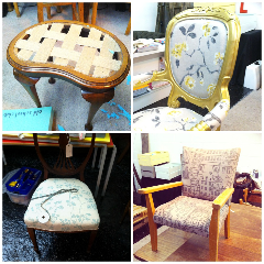Upcycling classes and workshops to learn how to upcycle for Furniture upcycling course